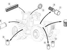 Продам фільтра для трактора Джон Дір 8295R