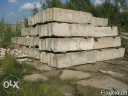 Продам фундаментные блоки 50 б\у