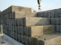 Продам фундаментные блоки б/у ,ФБС