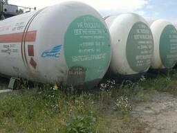 Продам газовые цистерны