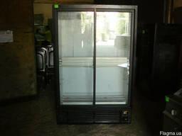 Продам холодильный шкаф б.у. со стеклянной дверью для кафе,
