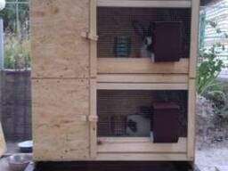 Продам - изготовлю клетки для кроликов