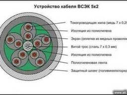 Продам кабель ВСЭК 5*2 в Украине