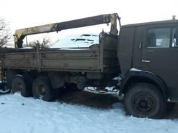 Продам Камаз 53212 бортовой с мани-ром.