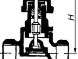 Продам клапан запорный проходной 15б1бк ду50