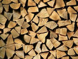 Продам колотые дрова в контейнерах