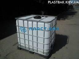 Продам кубовую емкость бак воды бу цена в обрешетке