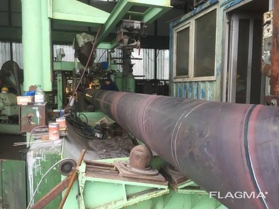 Продам линия спиралный сварная трубы:от 300мм-1600мм