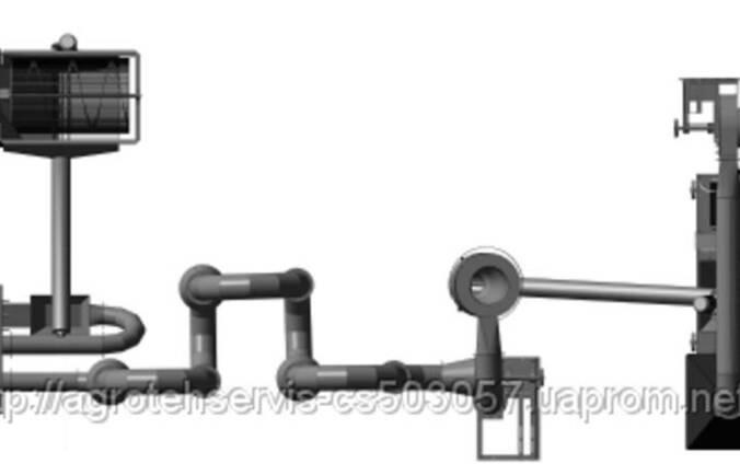 Продам линию производства топливных брикетов, пеллет.
