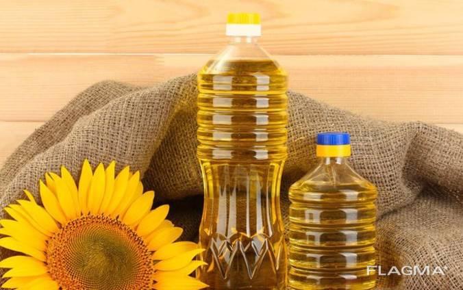 Подсолнечное масло на экспорт FOB Odessa - 0.80 $ за 1 литр