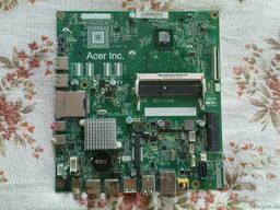 Продам материнку с 4-х поточным процессором