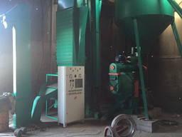 Линия гранулирования пеллет опилок лузги комбикорма Огм 0,8
