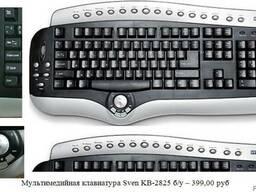 Продам: Мультимедийная клавиатура Sven KB-2825