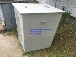 Продам мусорный бак(контейнер) для сбора ТБО 0, 5 0, 75 1м3