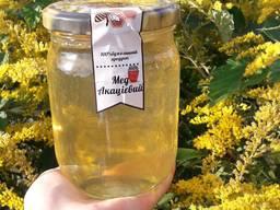 Продам натуральний мед з власної пасіки Закарпаття