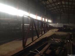 Продам Новые Фермы металлические, односкатные длиной 12м