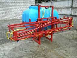 Опрыскиватель штанговый ОП-1000 литров Jar-met 14м, 16м