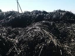 Продам отходы ПЭ ПНД ленту капельного полива.