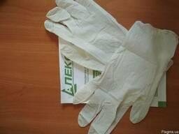 Продам перчатки нестерильные латексные, опудренные,