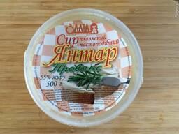 Продам плавленый Сыр Янтарь с Прованскими травами