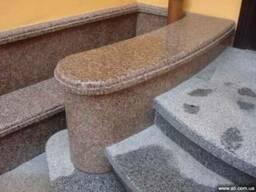 Гранитная плитка, плитка из гранита