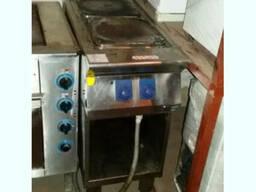Продам плиту бу профессиональную электрическую 2-х конфорочн