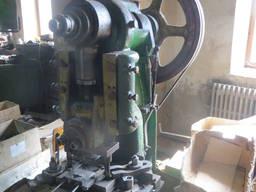 Продам пресс кривошипный 16 тон, чистая механика, ус. 16т.