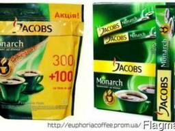 Продам растворимый кофе Якобс Монарх в стиках и эконом пакет