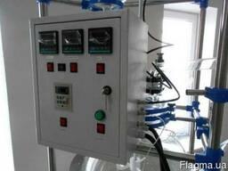 Продам реактор стеклянный 100л. с нагревом