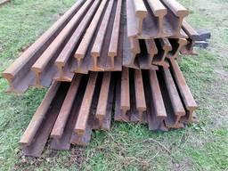 Продам рельс Р-65 с износом до 2 мм длина 12. 5 м в количестве 20 т.