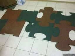 Продам резиновые травмобезопасные покрытия (плиты пазлы и др