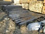 Продам Шпалы деревянные - фото 1