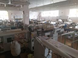 Продам швейную фабрику с японским оборудованием.