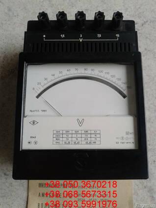Продам со склада вольтметры лабораторные Э543 (Э-543, Э 543)