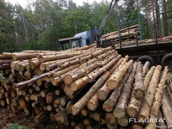 Продам сосновые дрова 4 метра