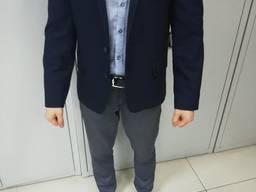 Продам стильный пиджак темно синего цвета, Запорожье