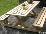 Дачная мебель, садовая мебель, уличная мебель - фото 4