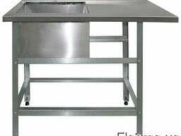 Продам стол c ванной моечной из нержавейки 304