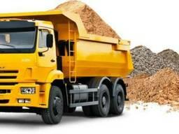 Продам строительные материалы (песок, щебень, глина, сыпец)