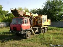Продам Татра УДС-114 экскаватор