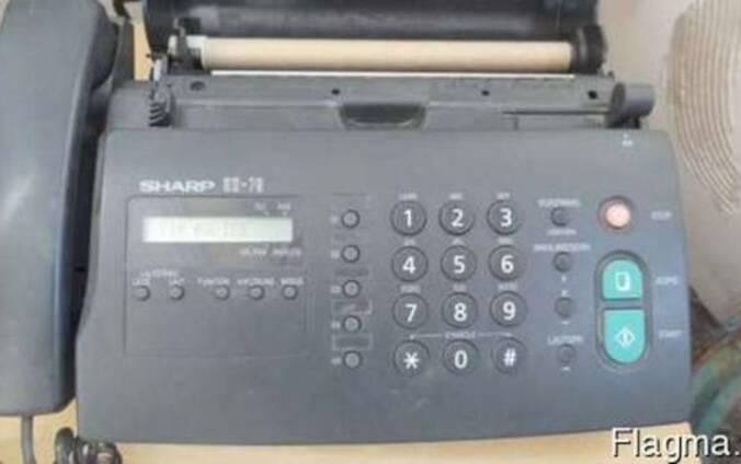 Продам телефон факс Sharp UX-70 Б/у в рабочем состоянии.