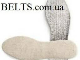 Украина. Теплые стельки для обуви «Термос» (лён с алюминиевой