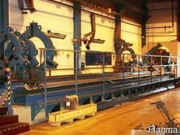 Продам Токарный станок с ЧПУ 15 метров: диаметр 2000