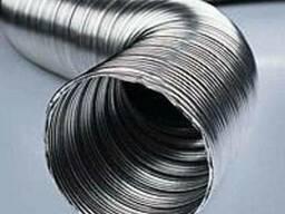 Продам трубу гофрированную алюминиевую в диаметре 60-500 мм
