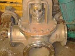 Продам трёхходовой пробковый кран Ду250 Ру10, 10Х18Н9Т.