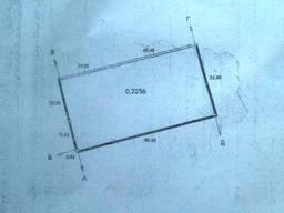 Продам участок 22, 56 соток в с. Красное, 11000 у. е
