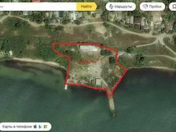 Продам участок у моря с причалом в Крыму