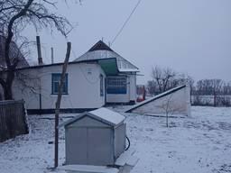 Продам уютный дом с газом в селе, рядом речка