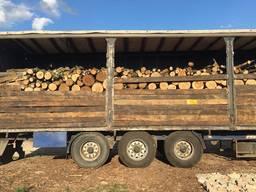 Продам в больших количествах дрова твердых пород и фруктовые