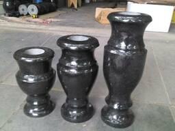 Продам вазы, шары, балясины, столы, фонтаны, лампадки из гранита - фото 2